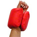 Gewichtsmanschette - Power-Clip inkl. Broschüre, 0,9 kg, rot, Paar