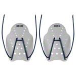 Aquagymnastik - BECO Handpaddles Schwimmtrainer, Gr. L, Paar, grau