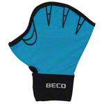 Aquajogging Handschuhe - BECO Neoprenhandschuhe mit Fingeröffnung, Gr. S, Paar, türkis