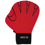 Aquajogging Handschuhe - BECO Neoprenhandschuhe ohne Fingeröffnung, Gr. M, Paar, rot