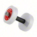 Aquajogging - Thera-Band Wasserhanteln leicht, rot, Ø 15 cm, Paar