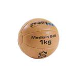 Sportball - Medizinball aus Leder, Ø 19 cm, 1 kg