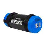 Gymstick - Gymstick Fitnessbag, 15 kg, blau, ø 22,5 cm x 55 cm