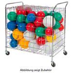 Ballwagen - Ballwagen mit Griff und Deckel, 378 L, fahrbar