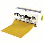 Thera Band - Thera-Band, 5,50 m x 12,8 cm, maxi stark, gold