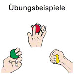 Squeeze Egg, weich, rot