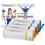 Thera Band - Thera-Bänder-Set inkl. Taschen, 4 Stärken