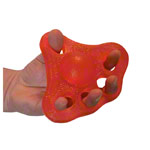 Power Web - Power-Web Flex-Grip Handtrainer, mittel, rot