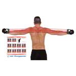Fitness Expander - Expander Elastikon, 15-75 kg, rot