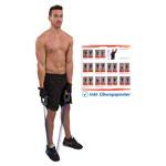 Fitness Expander - Expander Elastikon, 20-100 kg, blau