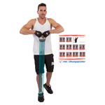 Sport Expander - Expander Elastikon, 25-125 kg, grün