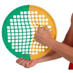 Power Web - Power-Web Combo, Ø 38 cm, leicht/stark, gelb/grün