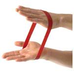 Rubberband - Rubberband, mittel, rot