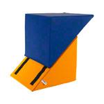 Positurkissen - Bandscheibenhocker verstellbar, LxBxH 40x40x40-60 cm