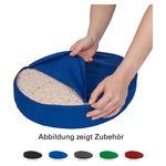 Lendenkissen - Bezug aus Baumwolle für Sitzkissen, ø 38 cm