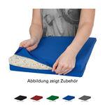 Lendenkissen - Bezug aus Baumwolle für Sitzkissen, 38x38 cm