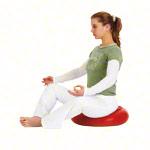Sitzkissen - TOGU Dynair Ballkissen XXL Meditation, Ø 50 cm, rot