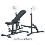 Muskeltraining - KETTLER Hantelbank Alpha Pro + Langhantelablage Vector