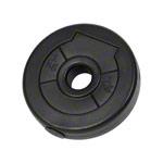 Hantel Gewichte - pumpset!-Hantelscheibe aus Vinyl, 1 kg, Stück