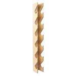 Hantelständer - Wandhalterung aus Holz für Fausthanteln