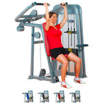 Shoulder Press - ERGO-FIT Shoulder Press 4000 med