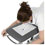 Koffermassagebank - Einmal-Nasenschlitztücher, 30x21 cm