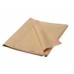 Liegenbezug - Fangotuch aus Baumwolle, 220x160 cm, beige