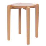 Fitness Gymnastik - Gymnastikhocker aus Holz, Ø 35 cm, Sitzhöhe 48 cm