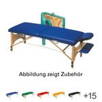 Koffermassagebank - Koffermassagebank Optima, LxBxH 171x60x57-83 cm