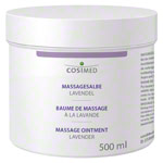 Massagelotion - cosiMed Massagesalbe mit Lavendelduft, 500 ml
