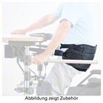 Beckengurt - Patientengurt mit Beinschlaufen und Boden für elektrisches Aufrichtsystem