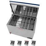Wasserbad - Wasserbad 16-130 für bis zu 18 Wärmeträger, elektronisch