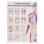 """anatomische Poster - Mini-Poster Booklet """"Physiotherapie des Menschen"""", LxB 34x24 cm, 12 Poster"""