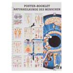"""anatomische Poster - Mini-Poster Booklet """"Naturheilkunde des Menschen"""", LxB 34x24 cm, 12 Poster"""