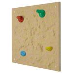 Kletterwand - Kletterelement Universal, 4 Griffe, beige