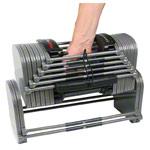 Hantelständer - Power Block Säulenständer für Hantelpaar 2.4