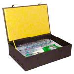 Massage - Schröpfglas-Set mit Vakuumpumpe, 18-tlg.