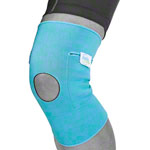 cool & move Kniebandage Gr. XL, inkl. 2 Kompressen, 8x13 cm