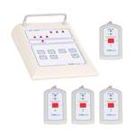 Notrufanlage - Notrufanlage Empfangseinheit medi-call 06, 6 Kanäle inkl. 4 Sender