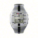 Pulsmessgeräte - POLAR FT4 inkl. WearLink, silber/schwarz