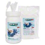 Desinfektionstücher - DESTIX Desinfektionstücher XXL in Spenderbox, 200 Stück inkl. Nachfüllpack, 200 Stück
