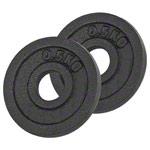 Sport Gewichte - Bremshey Hantelscheibe aus Gußeisen, ø 3 cm, 0,5 kg, Paar