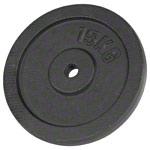 Sport Gewichte - Hantelscheibe aus Gußeisen, 15 kg, Stück