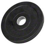 Sport Gewichte - Hantelscheibe mit Gummiüberzug, ø 3 cm, 1,25 kg, Stück