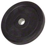 Sport Gewichte - Hantelscheibe mit Gummiüberzug, ø 3 cm, 5 kg, Stück