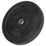Sport Gewichte - Hantelscheibe mit Gummiüberzug, 10 kg, Stück