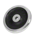 Hantel Gewichte - KETTLER Hantelscheibe Chrom/Gummi, 15 kg, Stück