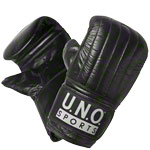 Boxhandschuhe - U.N.O. Sports Ballhandschuh Punch Pro, Gr. L, Paar