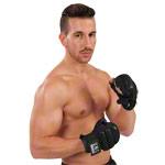 Boxzubehör - U.N.O. Sports Ballhandschuh Black Combat, Gr. XL, Paar