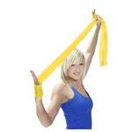 Physio Band - ARTZT vitality latexfree Übungsband, 2,5 m x 8 cm, leicht, gelb